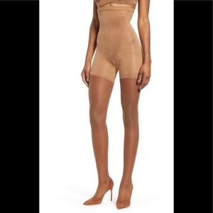 NIB SPANX Firm Believer High Waisted Sheers S6 D